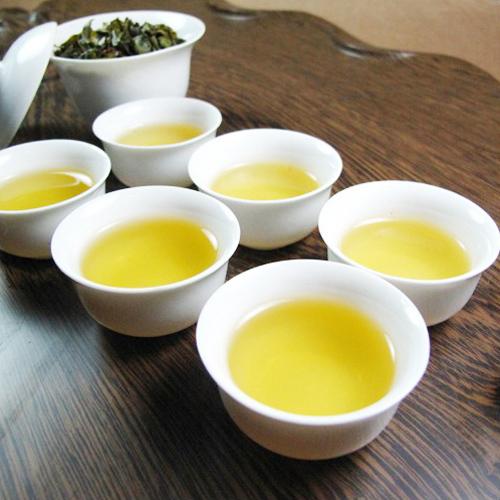 Купить зеленый китайский улун  Алишань