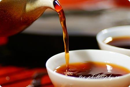 Купить китайский чай Шу Пуэр Yunnan Chi Tse Beeng Cha 2006г.