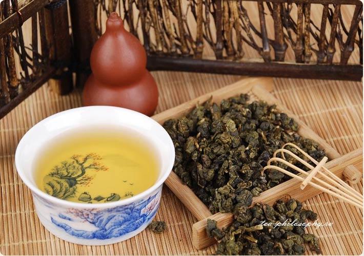 Купить зеленый китайский чай Габа
