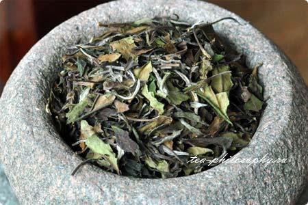 Гунмей - белый китайский чай