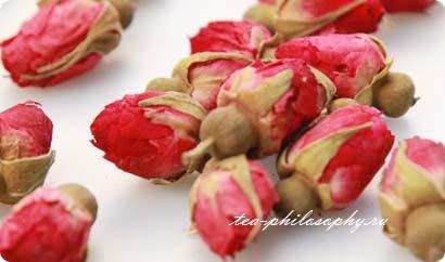 Покупайте китайскую розу в интернет магазине Чайная Философия по выгодной цене!
