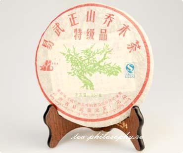 Покупайте Шен Пуэр Arbor Tea of Front mountain of Yiwu, март 2008г. в интернет магазине Чайная Философия по выгодной цене!