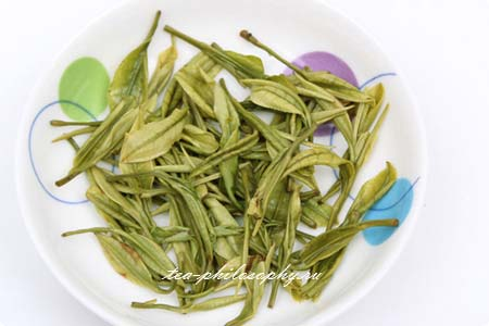 Купить зеленый китайский чай Бай Ча Ань Цзи
