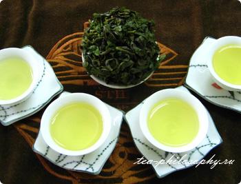 настоящий Китайский Чай Тегуанинь